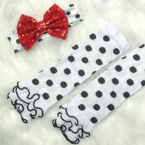 Other - Baby Toddler Boutique Sequin Headband Set